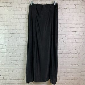 Zara Maxi Skirt Black Size Large